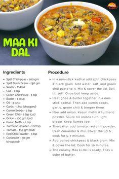 Maa Ki Dal or Kali Dal | Tasted Recipes Ghee Butter, Garlic Seeds, Punjabi Food, Cook N, Dal Recipe, Sour Taste, Shot Recipes, Lentil Curry, Lentil Recipes