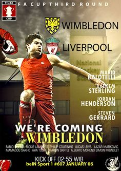 Wimbledon vs Liverpool