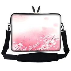 Meffort Inc 15 15.6 inch Neoprene Laptop Sleeve Bag Carrying Case with Hidden Handle and Adjustable Shoulder Strap - Cherry Blossom Meffort Inc http://www.amazon.com/dp/B012GWQQLQ/ref=cm_sw_r_pi_dp_9870vb1B3B971