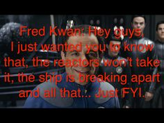 Fred is my spirit animal (Galaxy Quest)