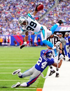 Steve Smith Panthers Greatest Catches | Week 1: The New York Giants beat the Carolina Panthers, 31-18, to open ...
