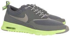 Liquidation en ligne Nike Air Max Thea Femme Mercury Grise/Mine Grise/Flash Chaux Chaussures Pas Cher En Ligne