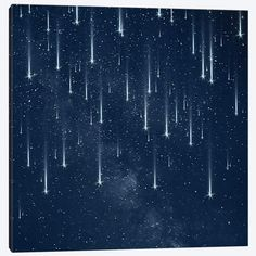 Falling Stars Canvas Print by Paula Belle Flores Ravenclaw, Kingdom Hearts, Canvas Fabric, Canvas Prints, Canvas Canvas, Canvas Paintings, Cover Wattpad, Lily Evans, Falling Stars