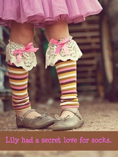 Lily had a secret love for socks. DOBBY!!!!!!