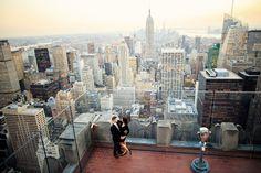 New York City Engagement Photos   Lauren & John