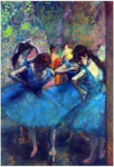 Edgar Degas Dancers Art Print Poster Poster at AllPosters.com