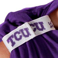 TCU Horned Frogs Sleeve Scrunchies
