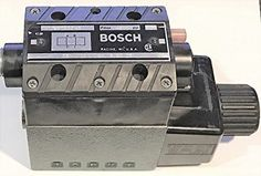 Bosch Rexroth 981032145 081WV10P1V1016KL Single Solenoid Operate Hydraulic Valve #Rexroth