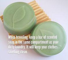 #FakinoTips - Guarda un jabón de esencias en el mismo compartimiento de tu ropa sucia, esto la mantendrá con olor a limpio.