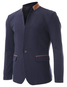 Jackets certainly are a vital part of every man's clothing collection. Men need jackets for a number of functions and several climate conditions Mens Fashion Suits, Blazer Fashion, Mens Suits, Sharp Dressed Man, Well Dressed Men, Terno Slim, Mode Man, Blazers For Men, Gentleman Style