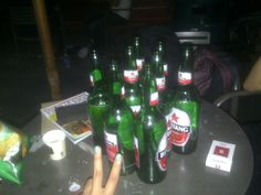 this is crazy. 8 bottles of beer only for me and dika :))