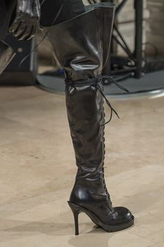 Ann Demeulemeester Fall 2018 Fashion Show Details- The Impression