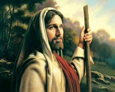 I Am The Way by Simon Dewey ~ Jesus the Good Shepherd Images Of Christ, Pictures Of Jesus Christ, Jesus Pics, Jesus Art, God Jesus, Simon Dewey, Kenneth Cope, Image Jesus, Our Father In Heaven