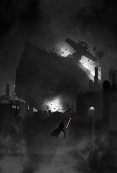 Starkiller Noir byGabriel Ochoa