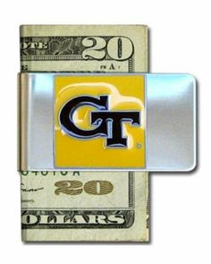 Georgia Tech Yellow Jackets Steel Money Clip by Siskiyou. $9.15. Stainless Steel Clip. Officially Licensed. Sculpted and Enameled Team Emblem. NCAA Georgia Tech Yellow Jackets Steel Money Clip