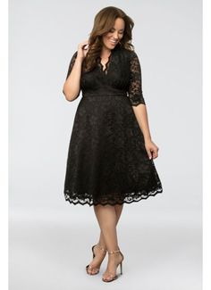 Mademoiselle Lace Plus Size Dress 12150901