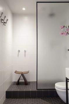 Black framed shower door bathroom design ideas black shower frames black framed shower doors nz black black framed shower lorna frame shower screen black black frame shower screen 17 of 32 save 56 Bad Inspiration, Bathroom Inspiration, Bathroom Ideas, Budget Bathroom, Bathroom Renovations, Restroom Ideas, House Renovations, Bathroom Organization, Bathroom Interior
