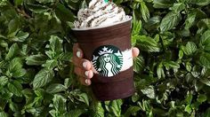 #mintmocha #DIY How To Make The Starbucks Midnight Mint Mocha Frappuccino & Avoid The Lines