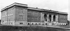 Old Photos of Kerrisdale - Magee Secondary School Vancouver Neighborhoods, Secondary School, History Facts, British Columbia, Old Photos, The Neighbourhood, Louvre, Canada, Building