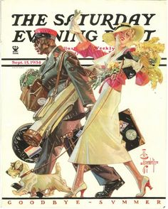 Saturday Evening Post Cover (1934) \ Norman Rockwell