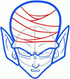 How To Draw Goku Easy Dragonball Z Gt Pinterest Goku Drawing