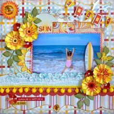 Layout: SUN ~~SCRAPUTANTE COTILLION KIT~~
