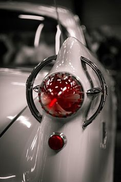 What happened to car design?  this is beautiful detailing... 1958 Chrysler Imperial Automobile.