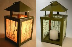 How to Recycle: Recycled Circuit Board Art