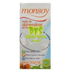 BIO Lapte migdale Monsoy - 1 litru Sin Gluten, Personal Care, Magazine, Milk, Glutenfree, Gluten Free, Self Care, Personal Hygiene, Magazines