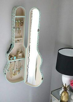 DIY Guitar Case Jewelry Box
