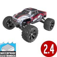 Terremoto Monster Truck 1/8 Scale Brushless Electric (With 2.4GHz Remote Control)