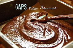 The Tasty Alternative: Guest Post from Caroline at Gustsy: GAPS Fudge Brownies
