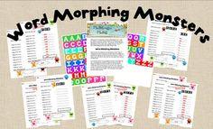 word morphing monster