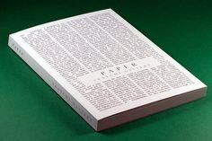 Saatchi Gallery: Paper by Alastair Goodbody, via Behance