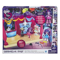 MLP Twilight Sparkle Equestria Girls Minis Dance Playset