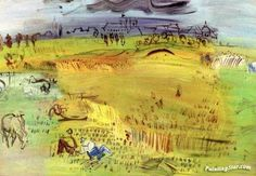 Raoul DUFY Harvest at Langres