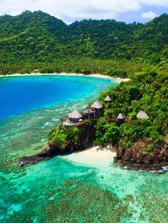 Peninsula Villa Lounge Laucala Island Resort, Taveuni Fiji ©