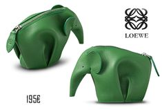 Cuando vi el monedero elefante de Loewe me dejó completamente enamorada, y como no, sentí la necesidad de hacer mi propia versión DIY...
