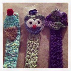 Crochet Pacifier Clips