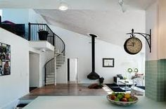 Great staircase and clock