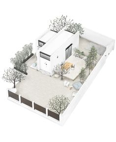 Monocabin: A Dream Holiday Home on Rhodes in a Tiny Package - Greece Is Modular Cabins, Prefab Cabins, Prefabricated Houses, Tiny Cabins, Modular Homes, Cubes, Modern Prefab Homes, 3d Modelle, Micro House