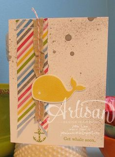 ☸Get Whale Soon☸ - AWW | Jane Lee http://janeleescards.blogspot.com