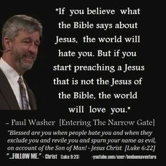 christian quotes | Paul Washer quotes | Jesus