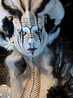 Serpent variety of Echidna Venom Priestess (villain) from Superheroes edition of SH0CK THE DEVIL! Collectors set | BEAUTY |