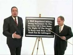 Penn & Teller Explain The Second Amendment  --  So simple MORON DEMOCRATS can't understand it!!