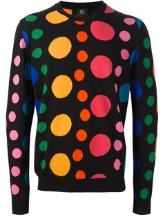 Ps By Paul Smith Dot Intarsia Sweater