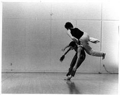 Nancy Stark Smith and Alan Ptashek, 1979, photo. Erich Franz, courtesy of artists and Contact Collaborations, Inc