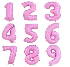 Barato 40 Polegada Número 0 9 Balões Folha Grande Rosa Azul Ar Digital Impresso Balão de Festa de Aniversário de Casamento Decoração Ballon suprimentos, Compro Qualidade Balões diretamente de fornecedores da China:  New 40 Inches Pink/Blue Digit  Foil Balloons Birthday Party Digital Balloon Wedding Christmas DecorationsUSD 17.6