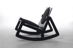 Rock Chair & Rock Seat.      「Block Lamp」で有名なDESIGN HOUSE Stockholmの新製品はノックダウン(組立)の出来るロッキングチェ...