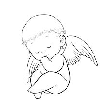 Image result for baby boy line drawing